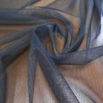 チュールレース生地ソフトナイロン(黒) 30デニールネット スカート ウェディングドレス バレエの衣装