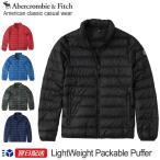 アバクロンビー & フィッチ Abercrombie & Fitch ダウンジャケット アウター Light Weight Packable Puffer Jacket ブラック ネイビー 迷彩他