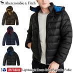 アバクロンビー & フィッチ Abercrombie & Fitch ダウンジャケット アウター フード付き Lightweight Down Convertible Hood Packable Jacket 3色