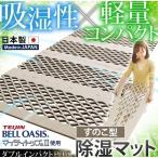 除湿マット すのこ 吸湿マット シングル 吸湿防ダニマット すのこマット 日本製 国産 除湿シート 吸湿シート 梅雨対策 抗菌 防ダニ 防臭 TJI-480