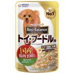 愛犬元気 ベストバランス 国産鶏ささみ パウチ トイプードル用 60g※この商品は取寄せ商品です。発送まで、ご注文確認後6日-20日頂きます。