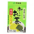 Yahoo!くすりのレデイハートショップ伊藤園 おーいお茶 緑茶 ティーバッグ 20袋入り