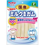 ペティオ 国産ミルク風味ガム ロール 7本入※取り寄せ商品(注文確定後6-20日頂きます) 返品不可