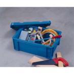 アイリスオーヤマ BOXコンテナ B-65 ブルー※取り寄せ商品(注文確定後6-20日頂きます) 返品不可