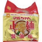 東洋水産 マルちゃん正麺 醤油味 5P 525g×6個※取り寄せ商品(注文確定後6-20日頂きます) 返品不可