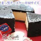 3/1-3/25お届けまで ホワイトデー ホワイトデーのお返し ホワイトデー ケーキ 2021  送料無料 リボン柄BOX まっ黒チーズケーキ(おのし・包装不可)