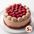 ケーキ チョコレートケーキ 木苺ショコラショートケーキ(おのし・包装・ラッピング不可)