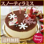 12/31お届けまで スノーティラミス クリスマスケーキ 送料無料