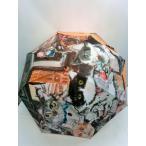 通年新作)雨傘・長傘-婦人 マンハッタナーズ・猫的解釈による名画耐風骨手開き傘