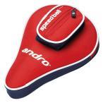 アンドロ(andro)ベーシックSPケース(レッド/ネイビー) 卓球 ケース AN-412237