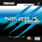 TIBHAR(ティバー) 卓球ラバー ニンバスソフト 赤 1.8mm BT015671