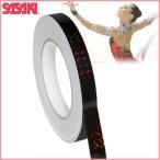 ササキスポーツ(SASAKI) 新体操 デコレーション グッズ ミラクルテープ・ブラック(ホログラム加工) HT-5
