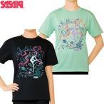ササキスポーツ(SASAKI) 新体操 ウェア ドライTシャツ 半袖 キッズ ジュニア 541