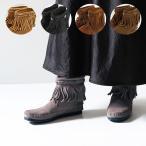 『MINNETONKA-ミネトンカ-』Hi Top Back Zip Boot-ハイトップ バックジップ ショートブーツ-