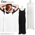 ショッピングONE ワンティースプーン ワンピース ドレス マキシワンピース マキシドレス レディース 11177