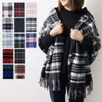 『Johnstons-ジョンストンズ-』WA56 Cashmere Tartans Stole [190×70cm] 100% カシミア タータンチェック 大判ストール スカーフ マフラー