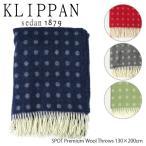 クリッパン KLIPPAN ブランケット ストール レディース SPOT Premium Wool Throws 130×200cm