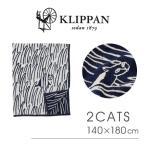 クリッパン KLIPPAN ブランケット ストール レディース 2CATS Chenille Blankets140×180cm mina perhonen ミナ ペルホネン