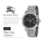 バーバリー BURBERRY 時計 腕時計 BU9351 クロノグラフ メンズ The City Chronograph リストウォッチ