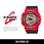 ショッピングShock カシオ CASIO G-SHOCK 時計 腕時計 GA110RD-4A メンズ G-ショック アナデジ