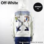 『Off-White-オフホワイト-』DIAG COLORED ARROW ZIP HOODIE ダイアグ カラード アロウ ジップ フーディ・パーカー OMBE001R19003012