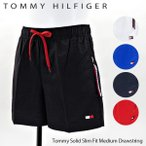 【ご返品不可】TOMMY HILFIGER トミーヒルフィガー Tommy Solid Slim Fit Medium Drawstring 〔UM0UM01080〕