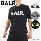 BALR.  Brand Shirt  ボーラー Tシャツ メンズ 半袖  クルーネック ロゴT