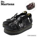 Dr.Martens ドクターマーチン テリー ブランド レザー ストラップ サンダル R23521001 R23521211