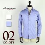 BUONGIORNO ボンジョルノ コットン エルボーパッチ シャツ 1012-269 (2colors) special priceCM