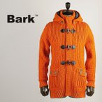 BARK バーク メンズ ショート丈 裏地付き ニットダッフルコート 474-30101003 340 (オレンジ)レビューを書いて送料無料