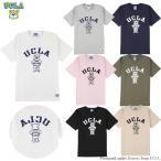 送料無料 UCLA (ユーシーエルエー) Tシャツ メンズ レディース UCLA-0436 ヘビーウエイト カレッジ ロゴ Tシャツ アメカジ
