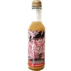 数量限定 桜ミク りんごジュース 200ml 2021年パッケージ ストレート 無添加 無ろ過 青森 弘前 さくら祭り 瓶入 タムラファーム
