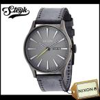 NIXON ニクソン 腕時計 SENTRY LEATHER セントリーレザー アナログ A105-1893