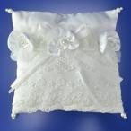 リングピロー 完成品 ブライダル ウエディング エレガント レース シルク 披露宴 挙式 指輪 結婚式 リングピロー1802 日本製 ネット専売 別注