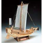 「送料無料」[お取寄せ]  ウッディジョー 木製帆船模型 1/72 菱垣廻船 レーザーカット加工