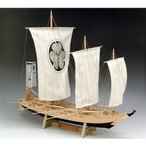 「送料無料」[お取寄せ]  ウッディジョー 木製帆船模型 1/24 八丁櫓 レーザーカット加工