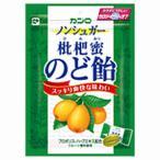 カンロ ノンシュガー枇杷蜜のど飴 個包装 90g×6袋 「ケース販売」 びわみつ のどあめ