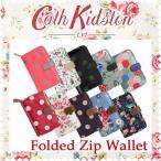 Cath kidston - Cath Kidston キャスキッドソン 二つ折り財布 フォールドジップウォレット