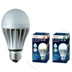 [最安クーポン配布中!]LED電球 E26 口金 東芝ライテック LDA5N/WD 昼白色 E-CORE 一般電球形30W相当 防水・調光器対応【LDA5NWD】