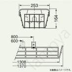 ベースライト/蛍光灯用ガード(直付形用)PF41514 岩崎電気