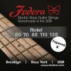 ギター用弦Fodera Electric Bass Guitar Strings, Roundwound 5-String Nickel 正規輸入品