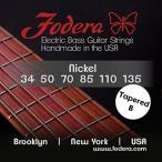 ギター用弦Fodera Electric Bass Guitar Strings, Roundwound 6-String Nickel 正規輸入品