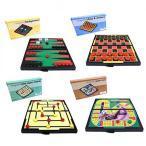 イースターアイテム 4 Magnetic Travel Games. Games include Auto Race, Checkers and Chess, Backgammon and Nine Men's Morris 正規輸入品