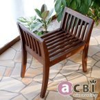 アウトレット アジアン家具 スツール カルティニ クラブチェア チーク 無垢 木製 椅子 チェア おしゃれ ナチュラル アクビィ ACS130KA