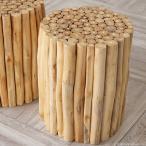 スツール 椅子 木製 おしゃれ サイドテーブル 玄関 チーク無垢材 チェア 北欧 ナチュラル カントリー シンプル アジアン AZT003S