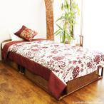 ベッド シングル ラタン 籐 木製 フレーム 和風 アジアン ナチュラル レトロ B400HR