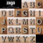 アルファベット 大文字 オブジェ パーツ エンブレム インテリア 雑貨  小さい 置物 コンクリート セメント製 北欧家具 ZAGO シンプル モダン L4Z-AZ