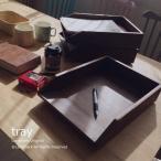 アジアン家具 バリ雑貨 収納トレイ ケース 書類ケース 木製 北欧 カフェ R032KA