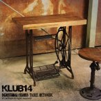 テーブル 机 デスク 木製 アイアン インダストリアル家具 ミシン台風 カフェ 北欧 RET100BK