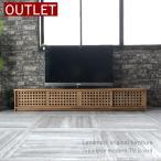 テレビ台ローボードテレビボードおしゃれ完成品収納付きTV台TVボード180天然木チーク無垢材和モダンアジアンインテリアW658XP